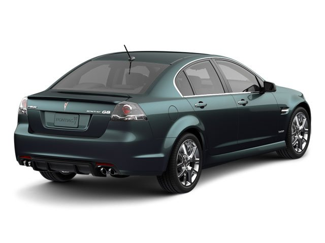 2009 Pontiac G8 Prices and Values Sedan 4D GT side rear view