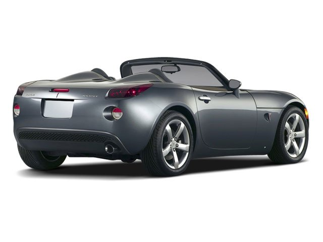 2009 Pontiac Solstice Pictures Solstice Roadster 2D GXP Club Sport photos side rear view