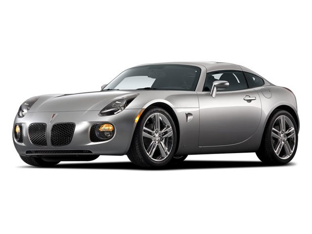 2009 Pontiac Solstice Prices and Values Coupe 2D side front view