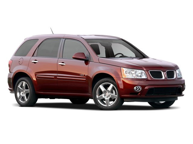 2009 Pontiac Torrent Prices and Values Utility 4D GXP 2WD side front view