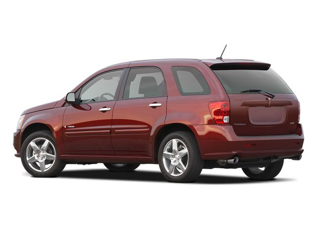 2009 Pontiac Torrent Prices and Values Utility 4D AWD side rear view