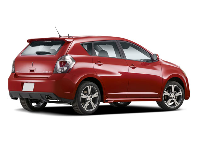 2009 Pontiac Vibe Prices and Values Wagon 4D GT side rear view