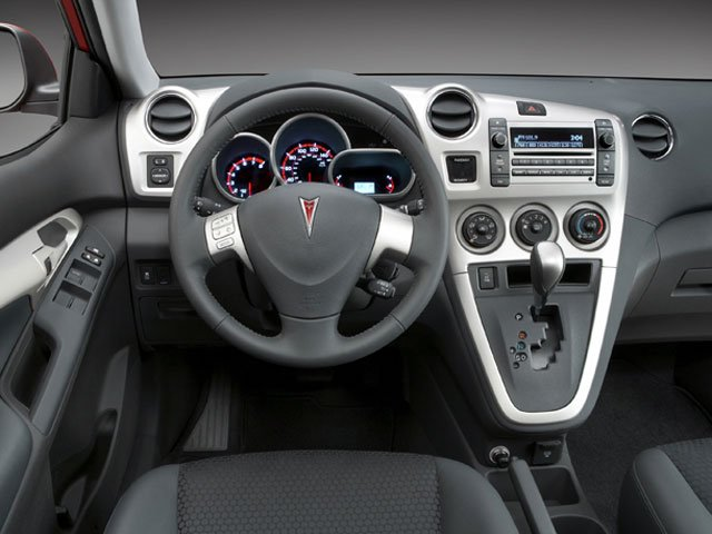 2009 Pontiac Vibe Prices and Values Wagon 4D GT driver's dashboard