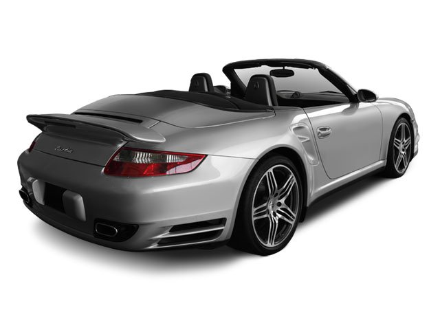 2009 Porsche 911 Prices and Values Cabriolet 2D side rear view