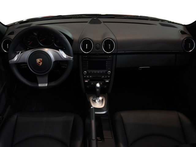 2009 Porsche Boxster Prices and Values Roadster 2D full dashboard