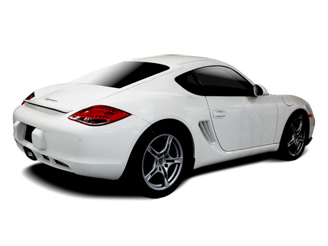 2009 Porsche Cayman Prices and Values Coupe 2D side rear view