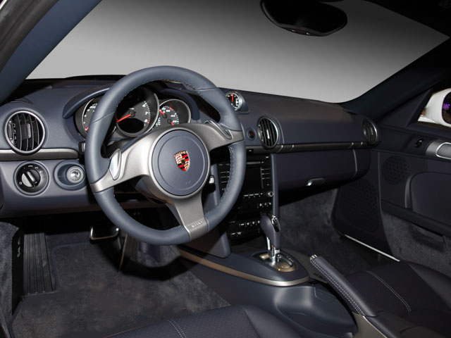 2009 Porsche Cayman Prices and Values Coupe 2D S full dashboard