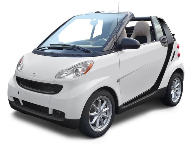 smart fortwo Coupe 2009 Convertible 2D Passion - Фото 1