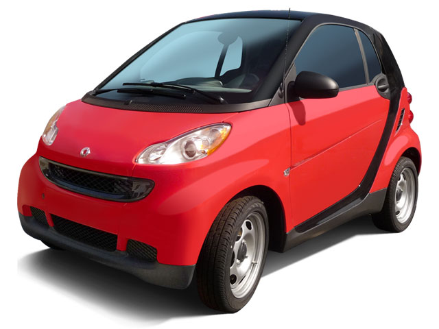 smart fortwo Coupe 2009 Coupe 2D Pure - Фото 1