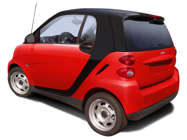 smart fortwo Coupe 2009 Coupe 2D Pure - Фото 2