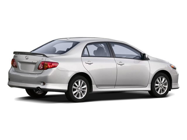 2009 Toyota Corolla Prices and Values Sedan 4D S side rear view