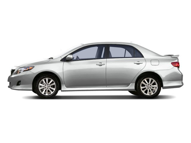 2009 Toyota Corolla Prices and Values Sedan 4D S side view