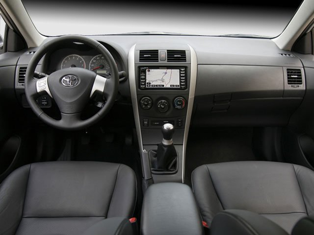 2009 Toyota Corolla Prices and Values Sedan 4D S full dashboard