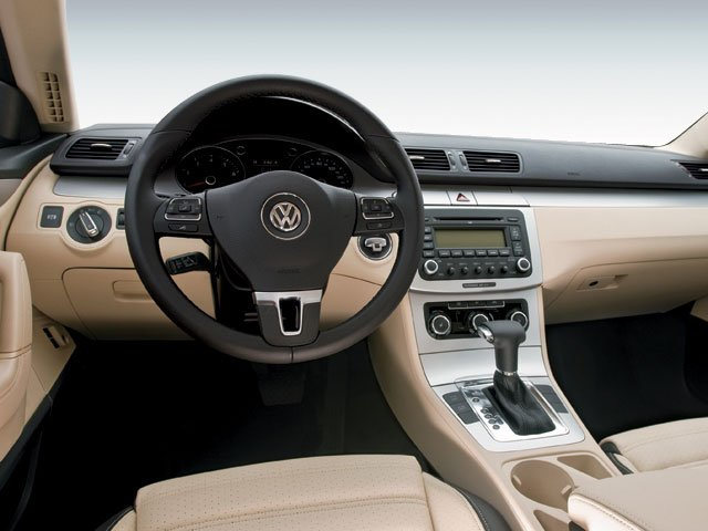 2009 Volkswagen CC Prices and Values Sedan 4D Sport driver's dashboard