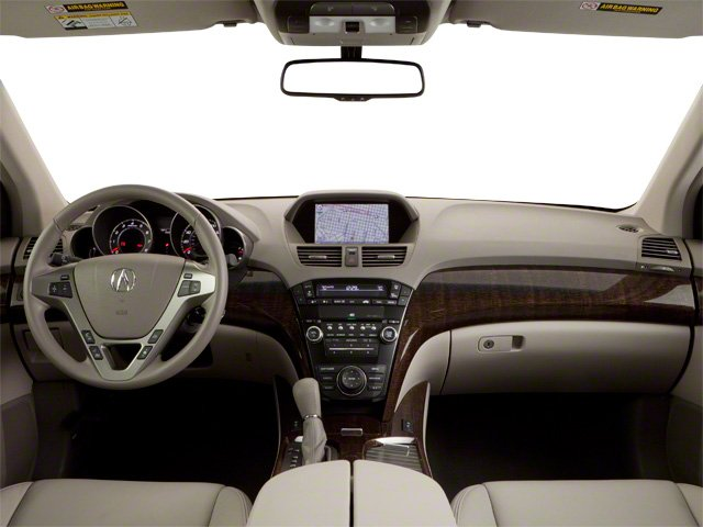 2010 Acura MDX Prices and Values Utility 4D Technology AWD full dashboard