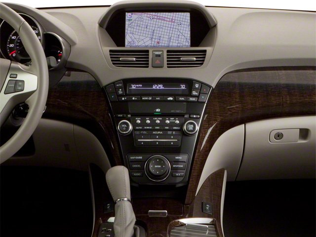 2010 Acura MDX Prices and Values Utility 4D Technology AWD center console