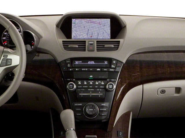 2010 Acura MDX Prices and Values Utility 4D Technology AWD center dashboard
