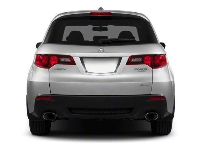 2010 Acura RDX Prices and Values Utility 4D Technology AWD rear view