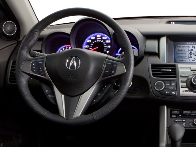 2010 Acura RDX Prices and Values Utility 4D Technology AWD driver's dashboard