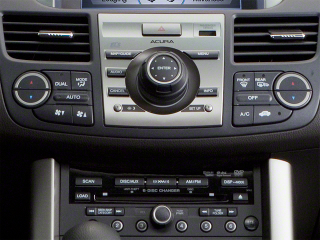 2010 Acura RDX Prices and Values Utility 4D 2WD stereo system