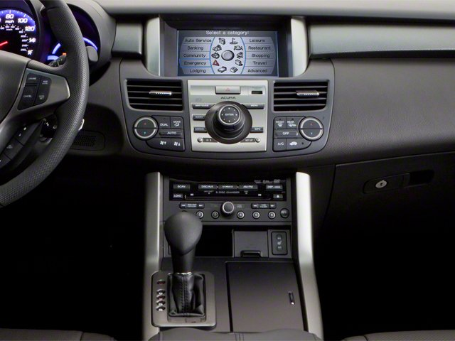 2010 Acura RDX Prices and Values Utility 4D 2WD center console