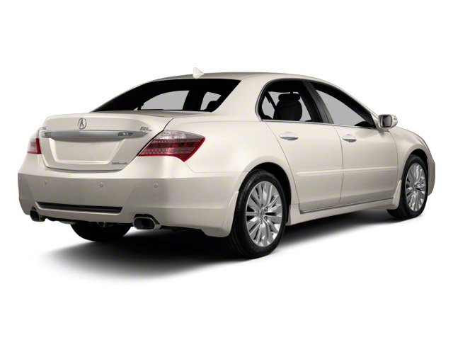 2010 Acura RL Prices and Values Sedan 4D AWD side rear view