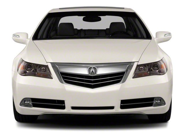 2010 Acura RL Prices and Values Sedan 4D Technology front view
