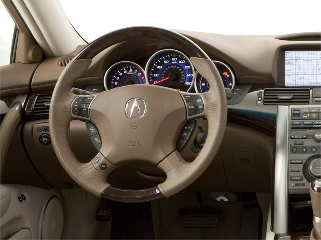 2010 Acura RL Prices and Values Sedan 4D Technology driver's dashboard