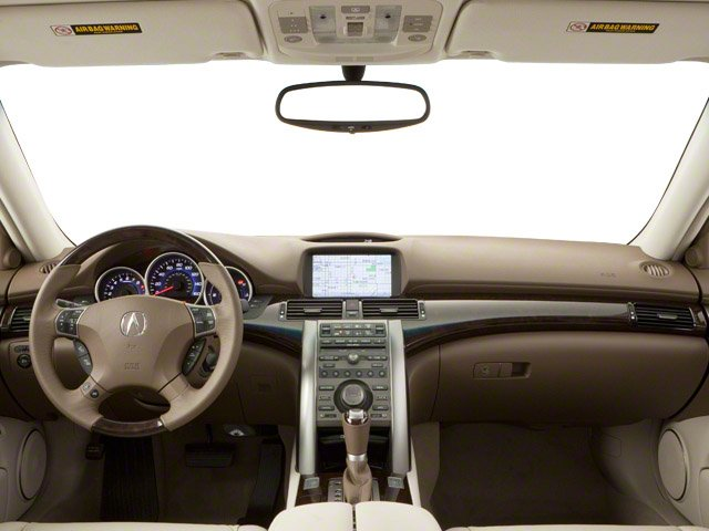 2010 Acura RL Prices and Values Sedan 4D Technology full dashboard