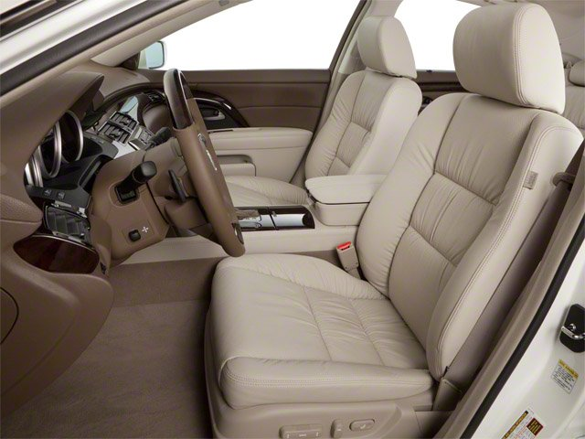 2010 Acura RL Prices and Values Sedan 4D Technology front seat interior