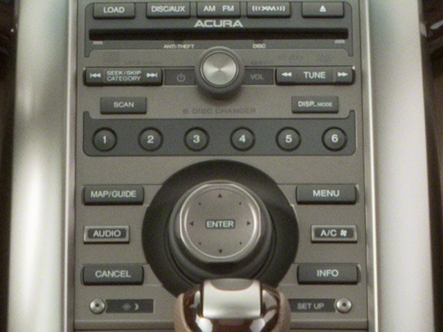 2010 Acura RL Prices and Values Sedan 4D Technology stereo system