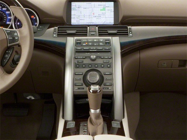 2010 Acura RL Prices and Values Sedan 4D Technology center console