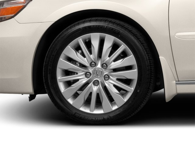 2010 Acura RL Prices and Values Sedan 4D Technology wheel