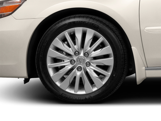 2010 Acura RL Prices and Values Sedan 4D AWD wheel