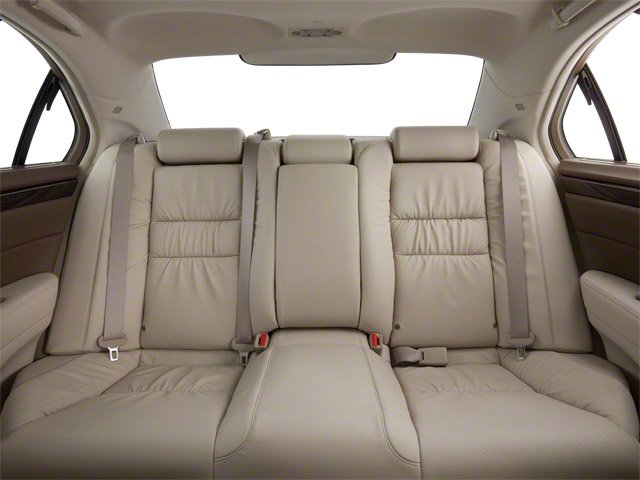 2010 Acura RL Prices and Values Sedan 4D Technology backseat interior