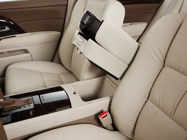 2010 Acura RL Prices and Values Sedan 4D Technology center storage console