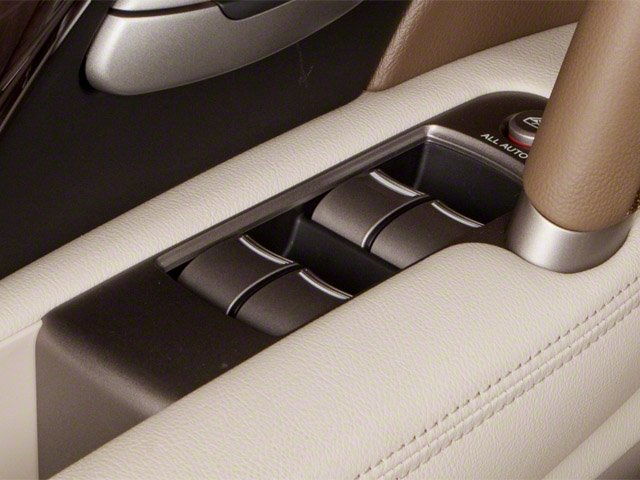 2010 Acura RL Prices and Values Sedan 4D Technology driver's side interior controls