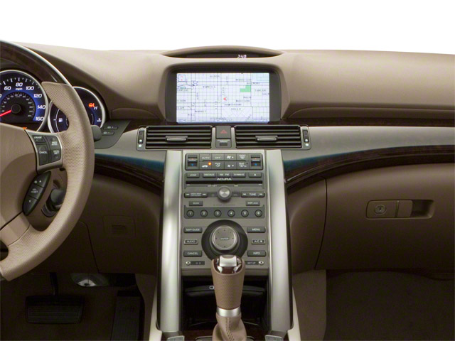 2010 Acura RL Prices and Values Sedan 4D Technology center dashboard
