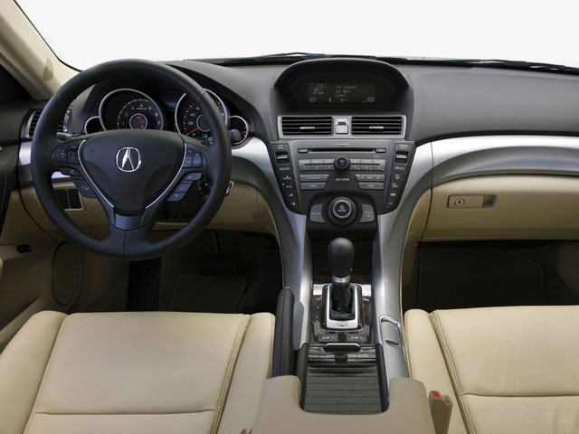 2010 Acura TL Pictures TL Sedan 4D AWD photos driver's dashboard