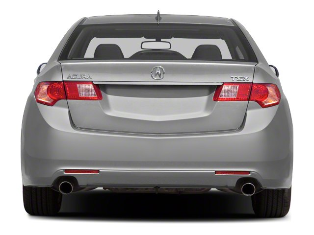 2010 Acura TSX Prices and Values Sedan 4D Technology rear view