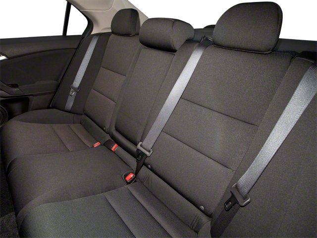 2010 Acura TSX Pictures TSX Sedan 4D photos backseat interior