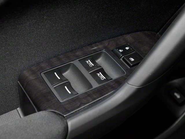 2010 Acura TSX Prices and Values Sedan 4D Technology driver's side interior controls