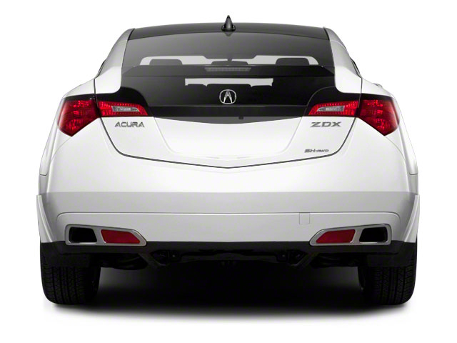 2010 Acura ZDX Prices and Values Utility 4D Technology AWD rear view