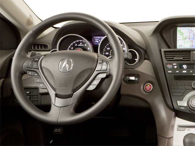 2010 Acura ZDX Prices and Values Utility 4D Technology AWD driver's dashboard