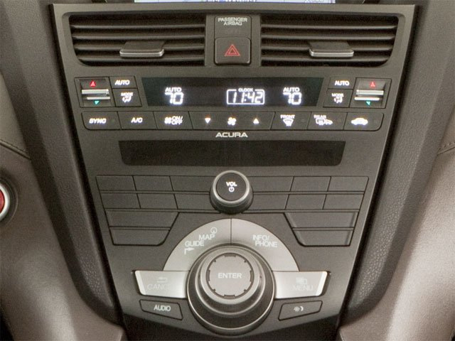 2010 Acura ZDX Prices and Values Utility 4D Technology AWD stereo system
