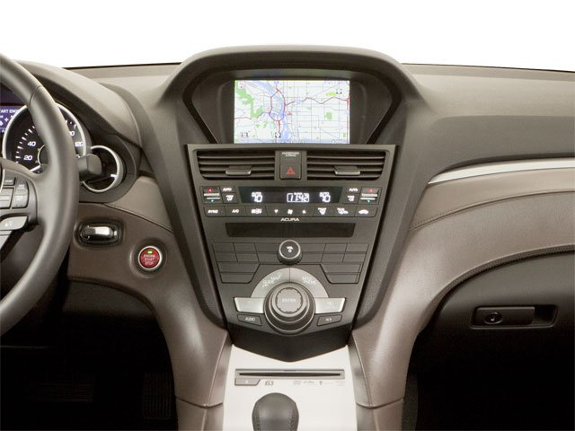 2010 Acura ZDX Prices and Values Utility 4D Advance AWD center dashboard