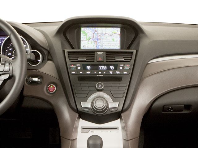 2010 Acura ZDX Prices and Values Utility 4D Technology AWD center dashboard