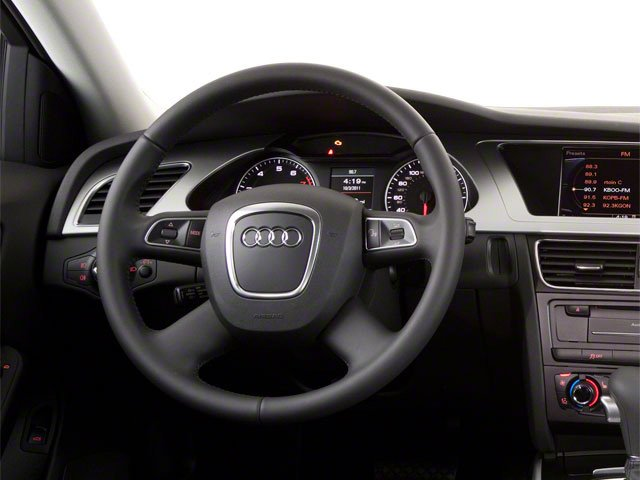 2010 Audi A4 Prices and Values Wagon 4D 2.0T Avant Quattro driver's dashboard
