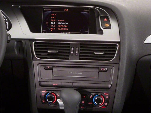 2010 Audi A4 Prices and Values Wagon 4D 2.0T Avant Quattro stereo system