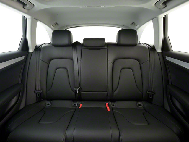 2010 Audi A4 Prices and Values Wagon 4D 2.0T Avant Quattro backseat interior